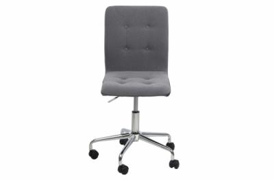 chaise de bureau confortable en tissu de qualité freestyle, gris