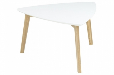 table basse violeta, plateau en bois, laqué