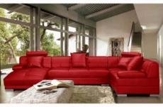 Canap d 39 angle en cuir italien 8 places napoli gris fonc mobilier priv for Canape d angle cuir rouge
