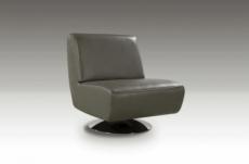 fauteuil de bureau design xera, gris foncé