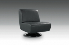 fauteuil de bureau design xera, noir