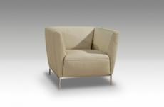 fauteuil de bureau design berto, beige