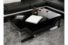 table basse design perle, noir
