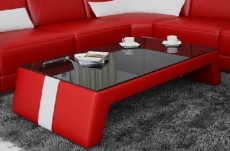table basse design siara, rouge