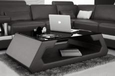 table basse design alma, noir.