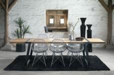 grande table à manger gigant de marque canett, modèle 290 cm de long. version: neutre, huilé, noir, peint