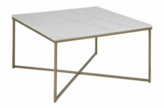 table basse alessia, plateau en marbre
