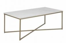 table basse alexandra, plateau en marbre