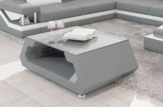 table basse design alma, gris clair