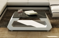table basse design alma, blanc.