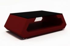 table basse design alma, bordeaux.
