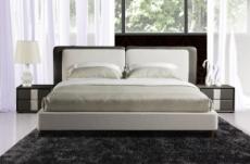 lit design en cuir et tissu de luxe astra, choisissez la couleur et le tissu, 180x200