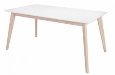 table à manger design blanche de qualité