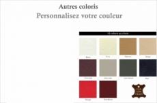 chevet de belle qualité dory, couleur personnalisée