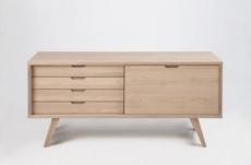 buffet design en bois de qualité isten