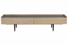 meuble tv design de qualité avec rangement spacieux, conti