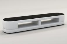meuble tv design staro. très joli modèle aux lignes tendances blanc