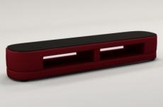 meuble tv design staro. très joli modèle aux lignes tendances bordeaux
