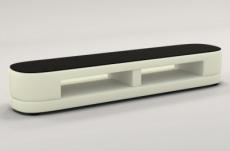 meuble tv design staro. très joli modèle aux lignes tendances écru