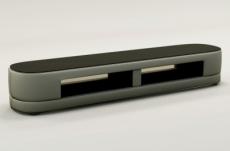 meuble tv design staro. très joli modèle aux lignes tendances gris clair