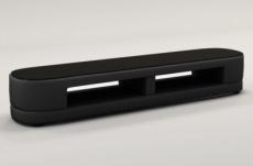meuble tv design staro. très joli modèle aux lignes tendances noir
