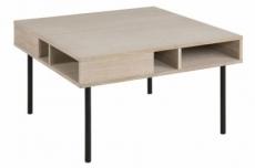 table basse hedy, chêne plaqué