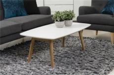 table basse nadege, plateau en bois laqué