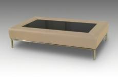 table basse design conti, beige