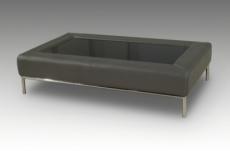 table basse design conti, gris foncé