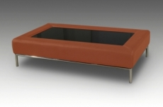 table basse design conti, marron