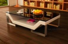 table basse design perle, beige