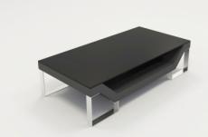table basse design perle, gris foncé