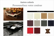 table basse design perle, personnalisé