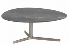 table basse poema, plateau en marbre