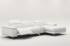 2678170759b canapé d angle en cuir italien 5 places relaxia