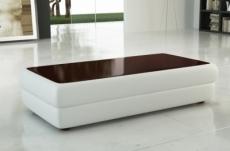 table basse design richmond, blanc