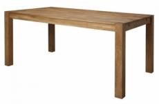 table à manger tereza, plateau en chêne massif huilé
