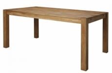 table à manger tullia, plateau en chêne massif huilé