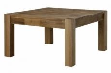 table basse tullia, plateau en chêne saubage, huilé
