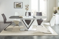 table à manger extensible valerie ceramic