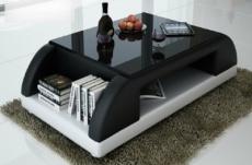 table basse design valina, noir et blanc