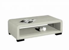 table basse design italien vera, blanc