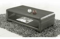 table basse design vera, gris foncé