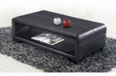 table basse design vera, noir