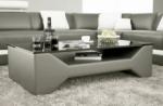 table basse design cosy, gris foncé