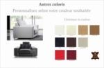fauteuil une place en cuir prestige luxe haut de gamme italien matignon, couleur personnaliséz
