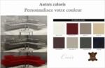 canapé d'angle en cuir de buffle italien de luxe 5/6 places, vida, couleur personnalisée , angle droit