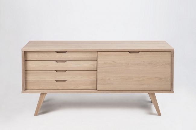 Buffet design en bois de qualit isten mobilier priv - Buffet bois contemporain ...