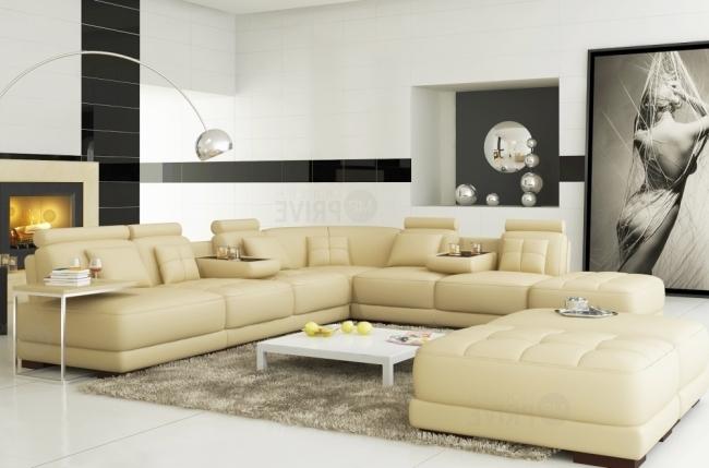 canap d 39 angle en cuir italien 7 8 places elixir cru mobilier priv. Black Bedroom Furniture Sets. Home Design Ideas