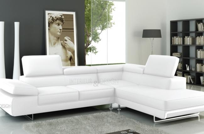 canap d 39 angle guci en cuir haut de gamme italien vachette v n setti tout cuir prestige luxe. Black Bedroom Furniture Sets. Home Design Ideas